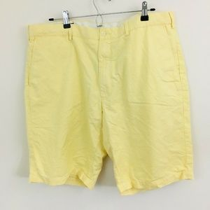 Polo Ralph Lauren Yellow Preston Cotton Shorts 40